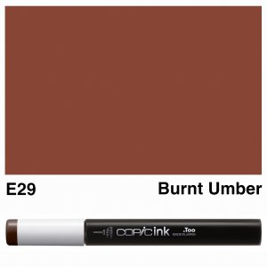 Copic Ink E29-Burnt Umber