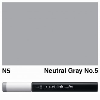 Copic Ink N5-Neutral Gray No.5