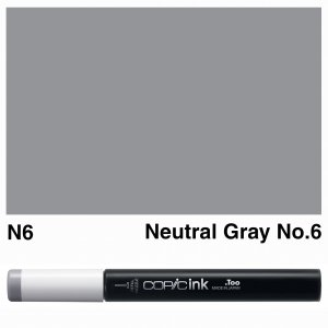 Copic Ink N6-Neutral Gray No.6