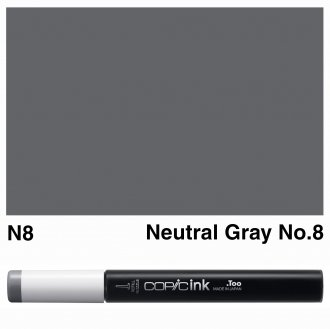 Copic Ink N8-Neutral Gray No.8