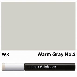 Copic Ink W3-Warm Gray No.3