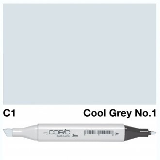 Copic Classic C1 Cool Grey