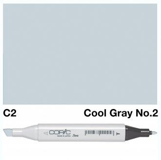 Copic Classic C02 Cool Gray 2