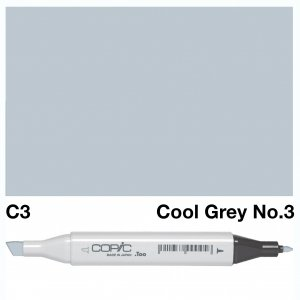 Copic Classic C3 Cool Grey