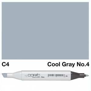 Copic Classic C04 Cool Gray 4