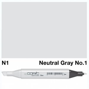 Copic Classic N01 Neutral Gray No1