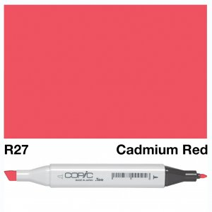 Copic Classic R27 Cad Red