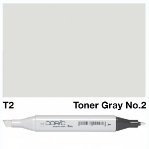 Copic Classic T02 Toner Gray No 2