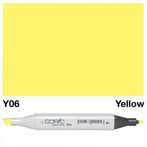 Copic Classic Y06 Yellow