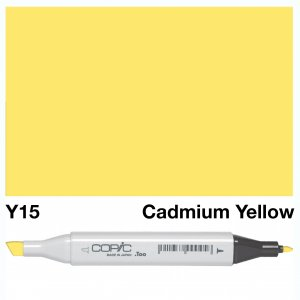 Copic Classic Y15 Cad Yellow