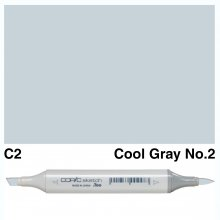 Copic Sketch C2-Cool Gray No.2