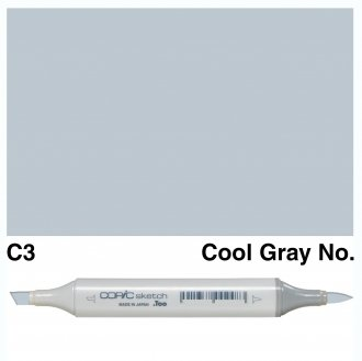 Copic Sketch C3-Cool Gray No.