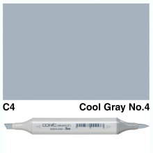 Copic Sketch C4-Cool Gray No.4