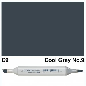 Copic Sketch C9-Cool Gray No.9