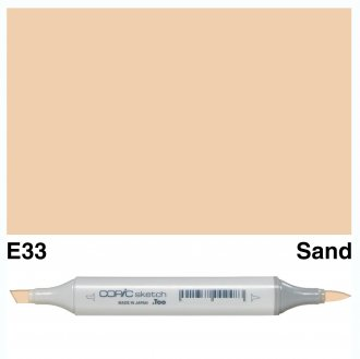Copic Sketch E33-Sand