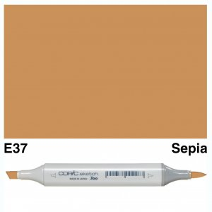 Copic Sketch E37-Sepia