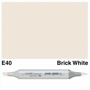 Copic Sketch E40-Brick White