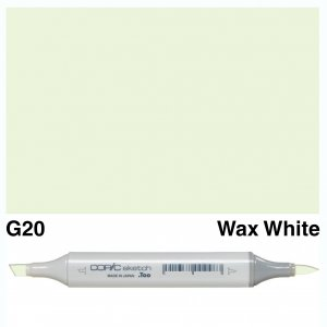 Copic Sketch G20-Wax White
