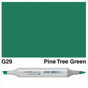 Copic Sketch G29-Pine Tree Green