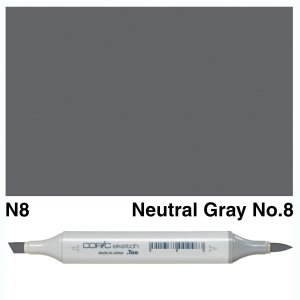 Copic Sketch N8-Neutral Gray No.8