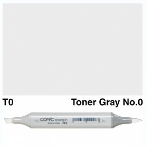 Copic Sketch T0-Toner Gray No.0