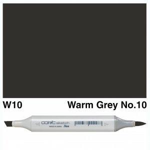 Copic Sketch W10-Warm Grey No.10