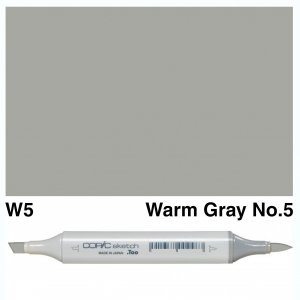 Copic Sketch W5-Warm Gray No.5