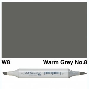 Copic Sketch W8-Warm Grey No.8
