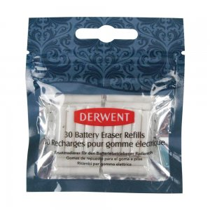 Derwent Battery Eraser Refills 30 pack