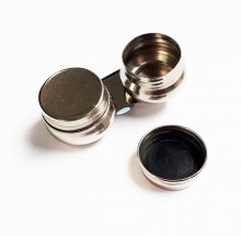 Double Dipper Tin w/ Screw Lid (Round) NEEF