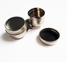 Double Dipper Tin w/ Screw Lid (Straight) NEEF