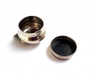 Single Dipper Tin w/ Screw Lid (Round) NEEF