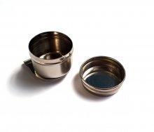 Single Dipper Tin w/ Screw Lid (Straight) NEEF