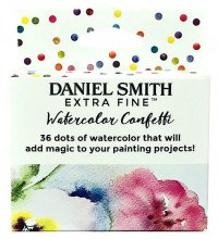 36 Color Confetti Mini Watercolor Daniel Smith Dot Card Box Set
