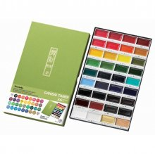Kuretake Gansai Tambi Watercolour Set 36