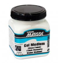 Gel Medium (Gloss) MM4 Matisse 250ml