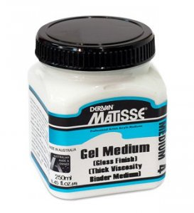 Gel Medium (Gloss) Matisse Mm4 250ml