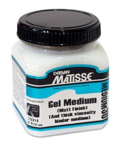 Gel Medium (Matt) MM30 Matisse 250ml
