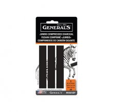 General's Jumbo Charcoal (3 pack)