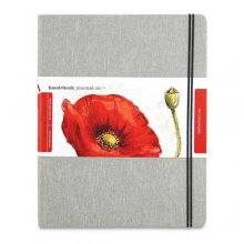 Handbook Linen W/C Journal 8.25x10.5in