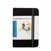 "Hand Book Journal 130gsm 3.5x5.5"" Portrait Black"