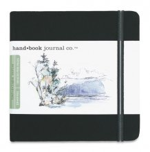 "Hand Book Journal 130gsm 5.5x5.5"" Square Black"