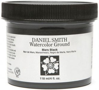 Daniel Smith Watercolour Ground Mars Black 118ml