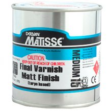 Final Varnish Matt (Turps) MM15 Matisse 500ml