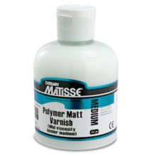 Polymer Matt Varnish MM6 Matisse 250ml