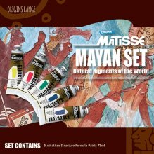 Matisse Structure Acrylic Set Mayan Colours