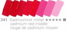 Cadmium Red Middle Mussini 35ml