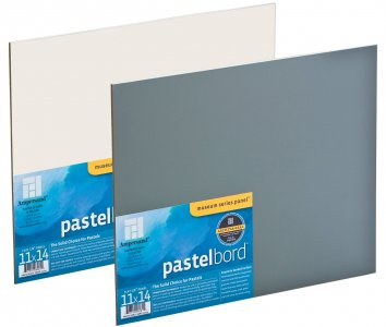 11x14 Pastelbord Grey 3.1mm Ampersand