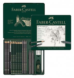 Faber Castell PITT Graphite Set (19 Tin)