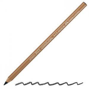 Faber PITT Charcoal Pencil Soft (Wax Free)